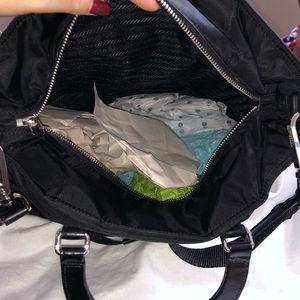 Prada Bags - Prada Tess + Spazzolat Black Bag